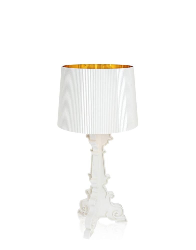 Светильник настольный Bourgie (белый/золотой)