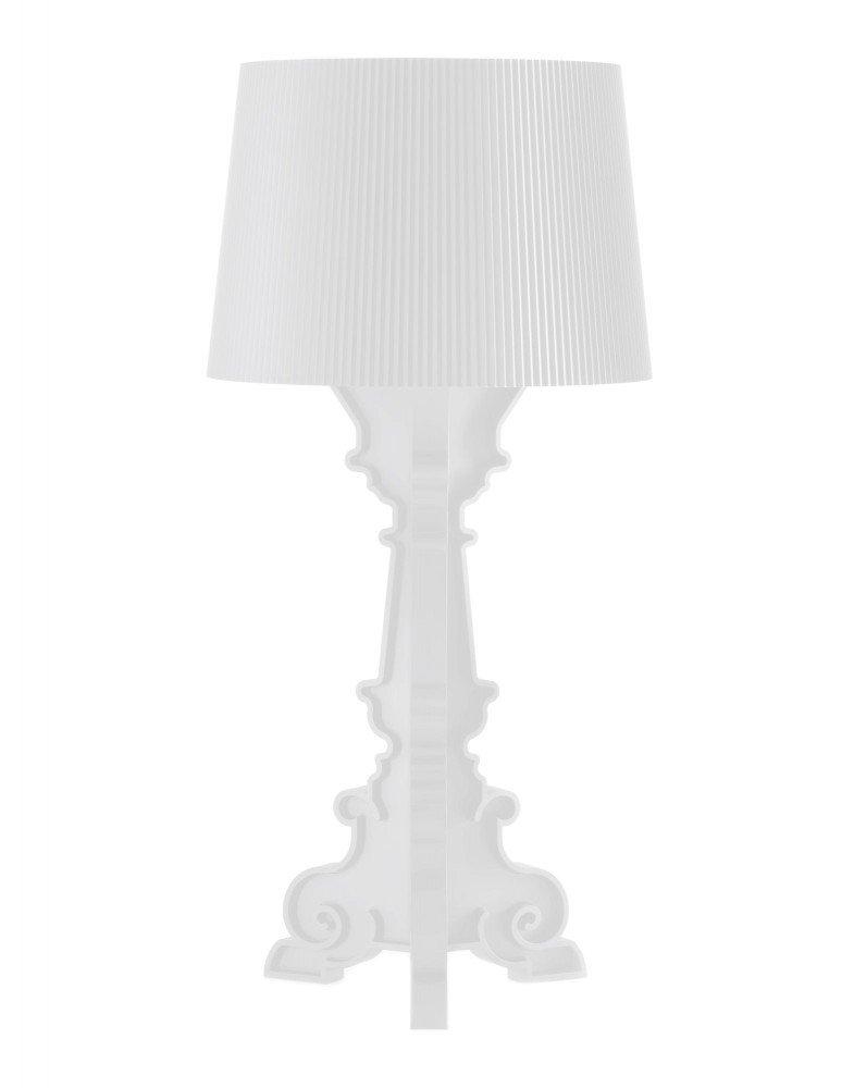 Светильник настольный Bourgie (белый) матовый