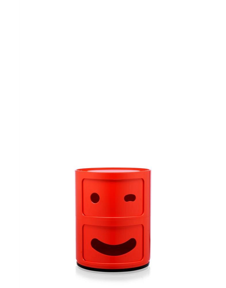 Контейнер Componibili (красный) высота 40см, диаметр 32см