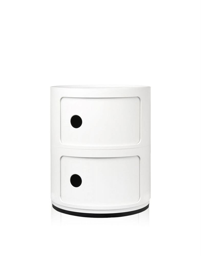 Контейнер Componibili (белый) высота 40см, диаметр 32см