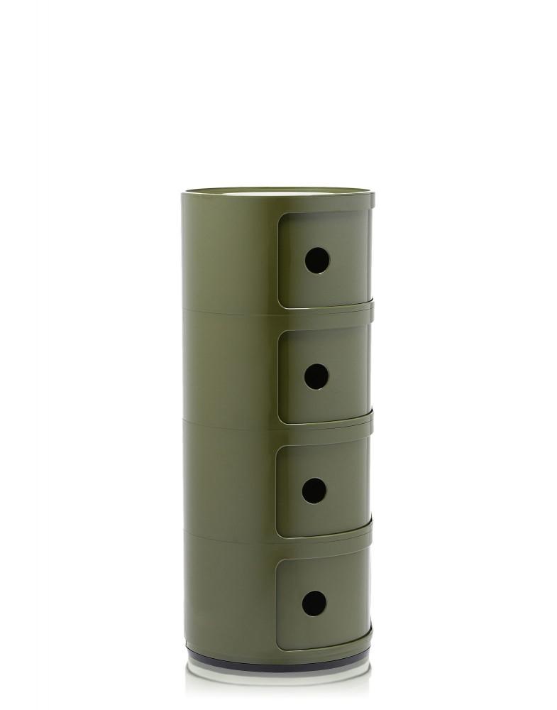Контейнер Componibili (зеленый) высота 77см, диаметр 32см
