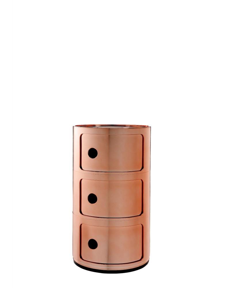 Контейнер Componibili (медный) высота 58,5см, диаметр 32см