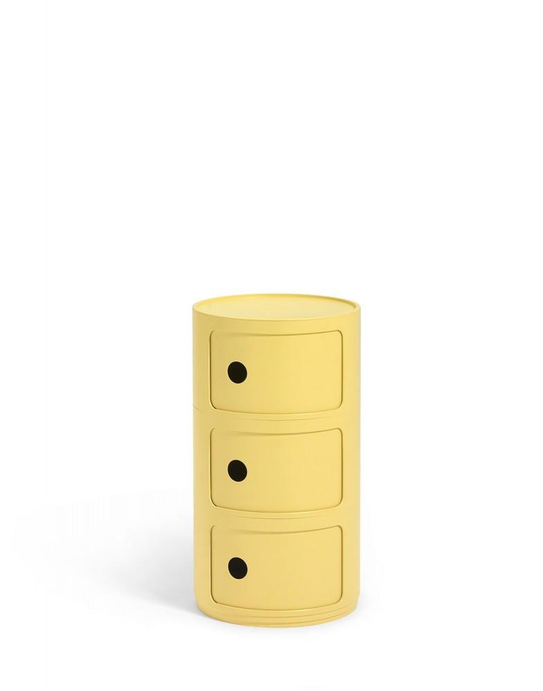 Контейнер Componibili (желтый) Био, высота 58,5см, диаметр 32см