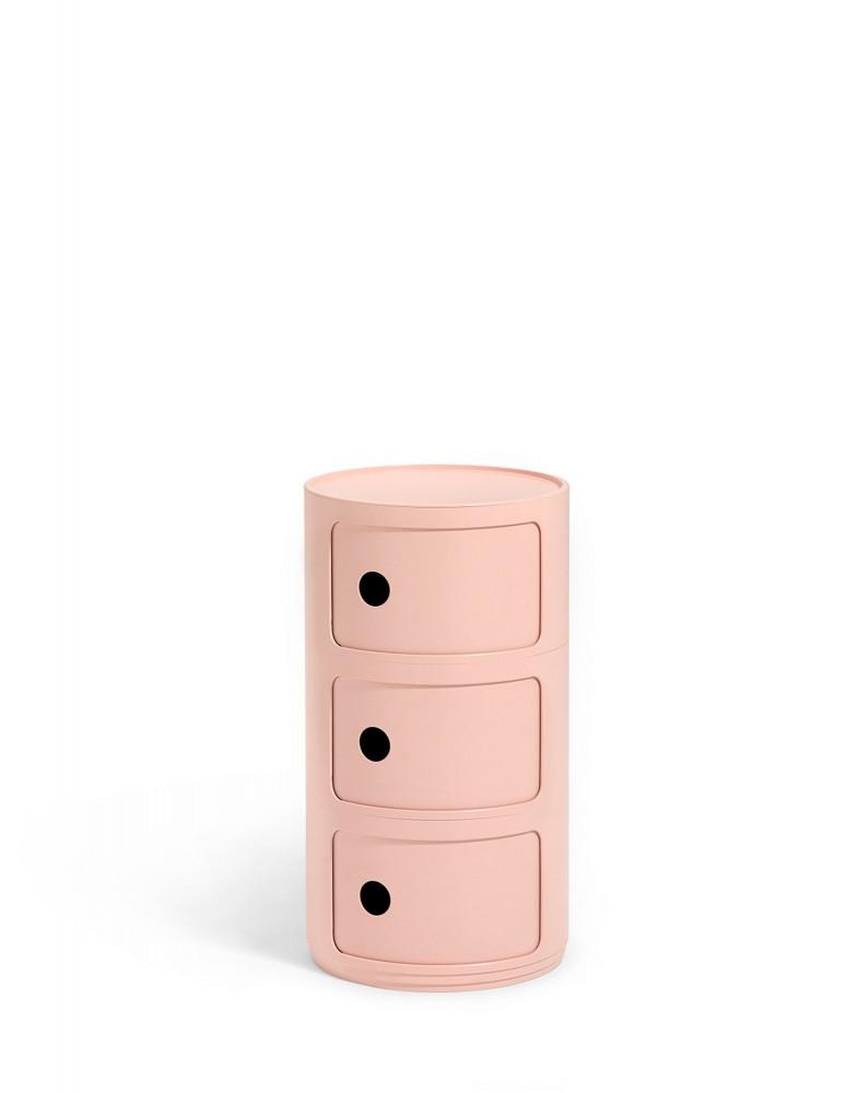 Контейнер Componibili (розовый) Био, высота 58,5см, диаметр 32см