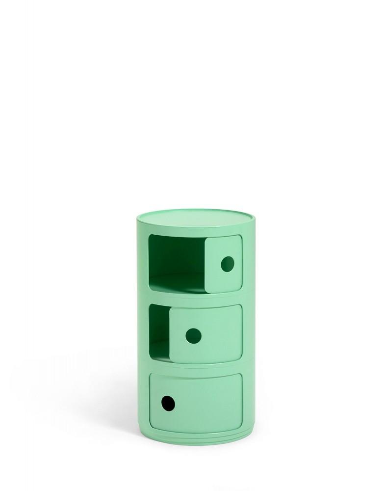 Контейнер Componibili (зеленый) Био, высота 58,5см, диаметр 32см