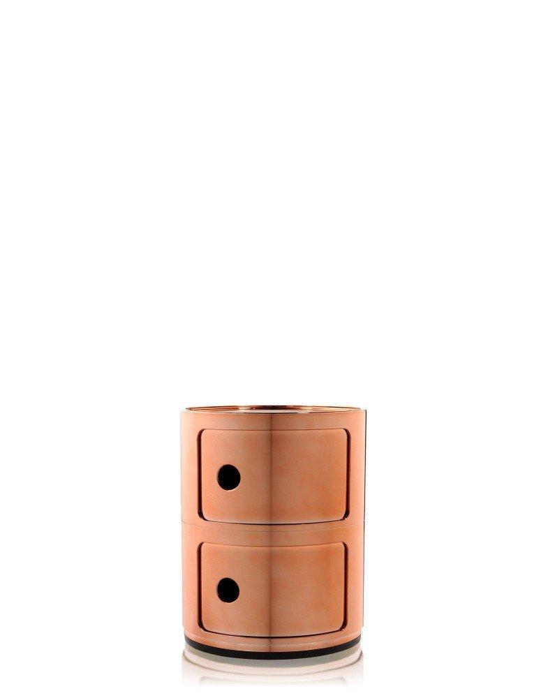 Контейнер Componibili (медный) высота 40см, диаметр 32см