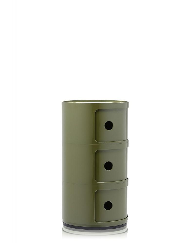 Контейнер Componibili (зеленый) высота 58,5см, диаметр 32см