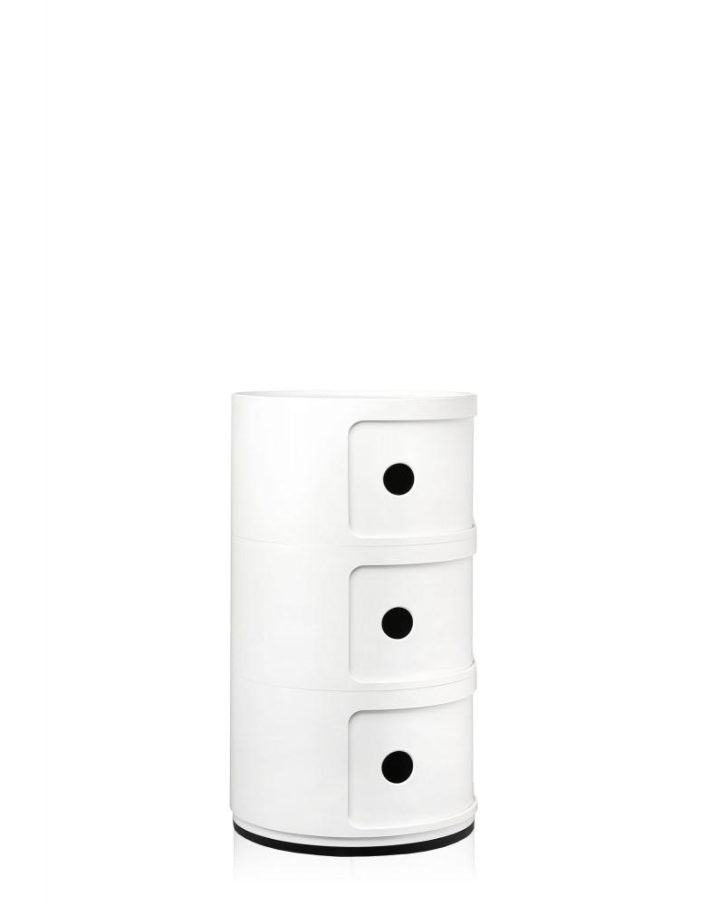 Контейнер Componibili (белый) высота 58,5см, диаметр 32см