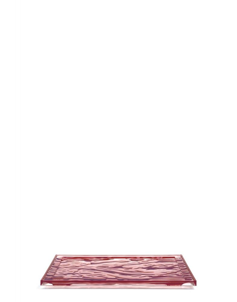 Поднос Dune (розовый) 46x32см