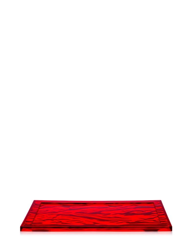 Поднос Dune (красный) 46x32см