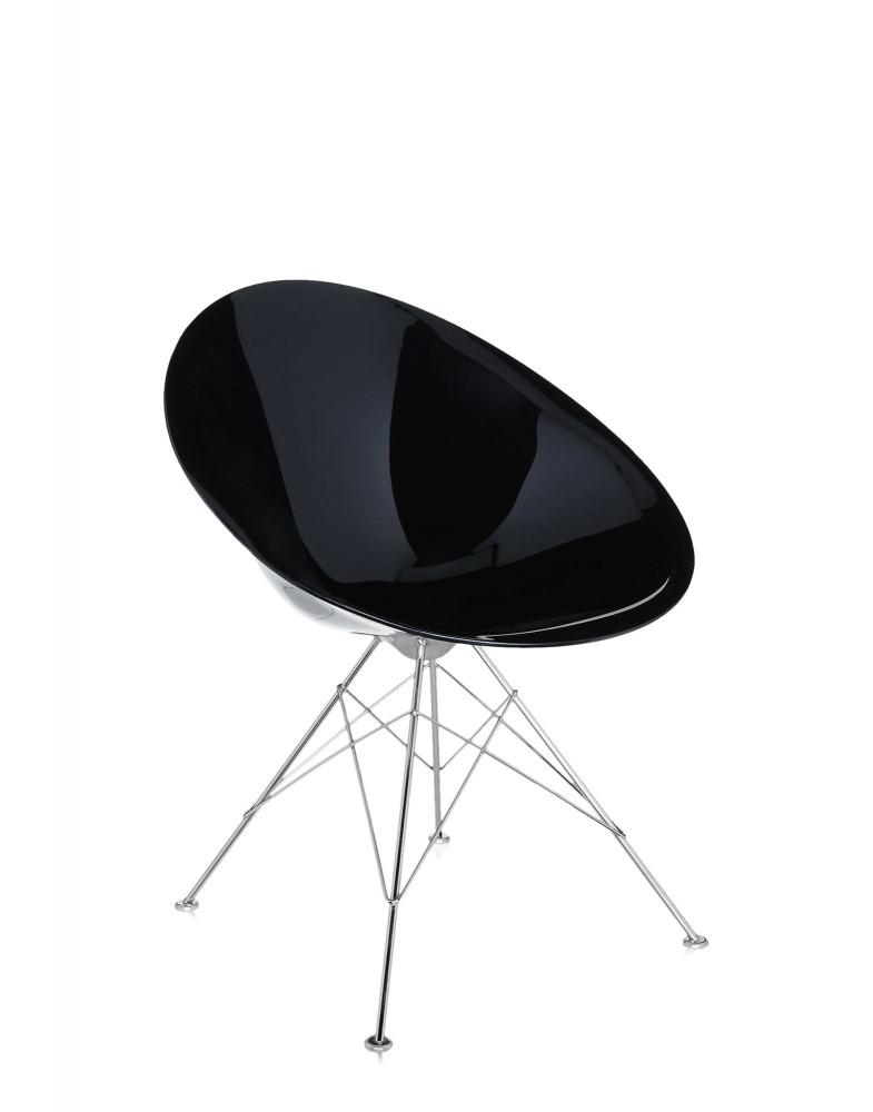Кресло Ero/S/ (черное) на 4 ножках