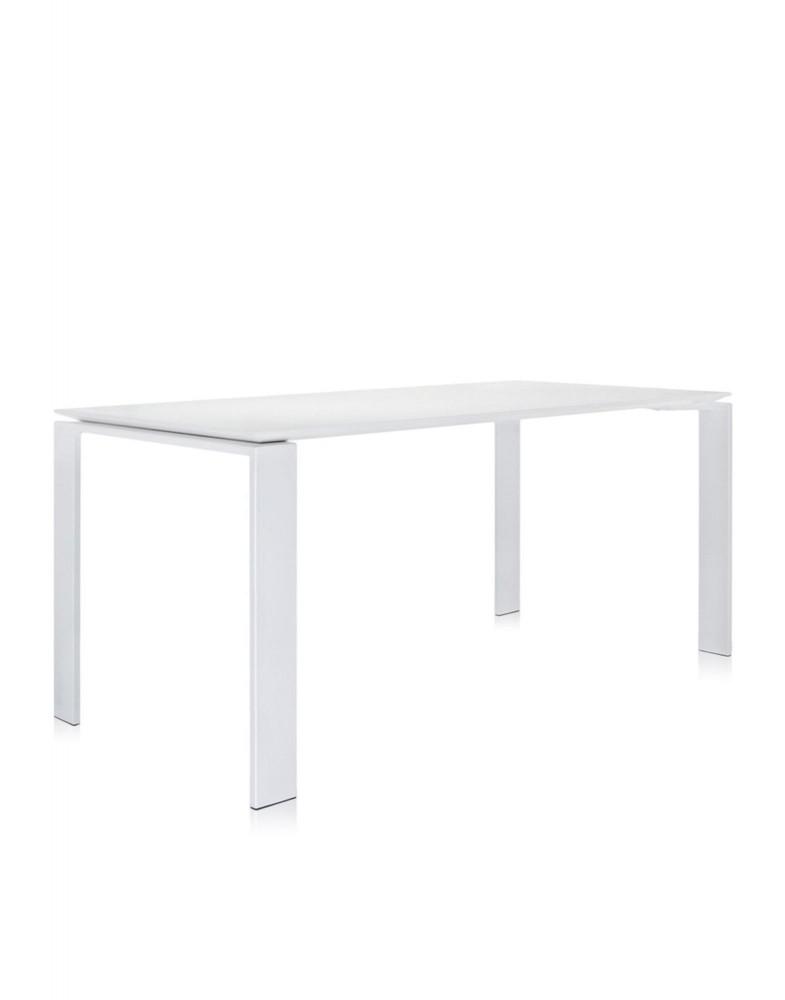 Стол офисный Four (белый) 158x79см