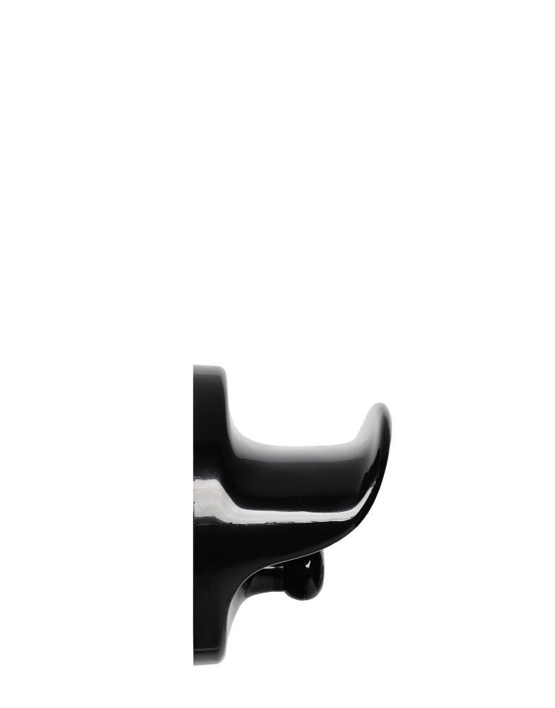Крюк для одежды (черный)
