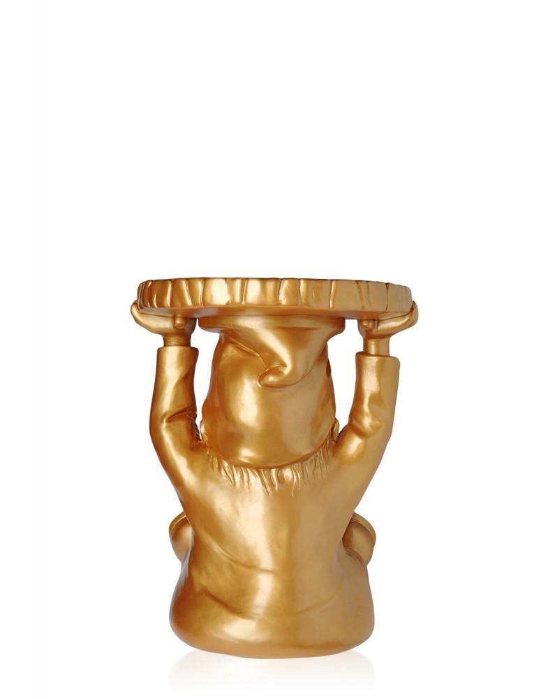 Табурет Gnomes Аттила (золотой)
