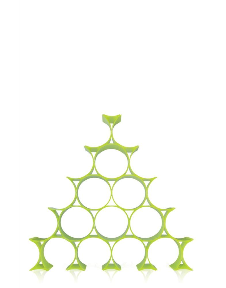 Подставка для бутылок Infinity (зеленая)