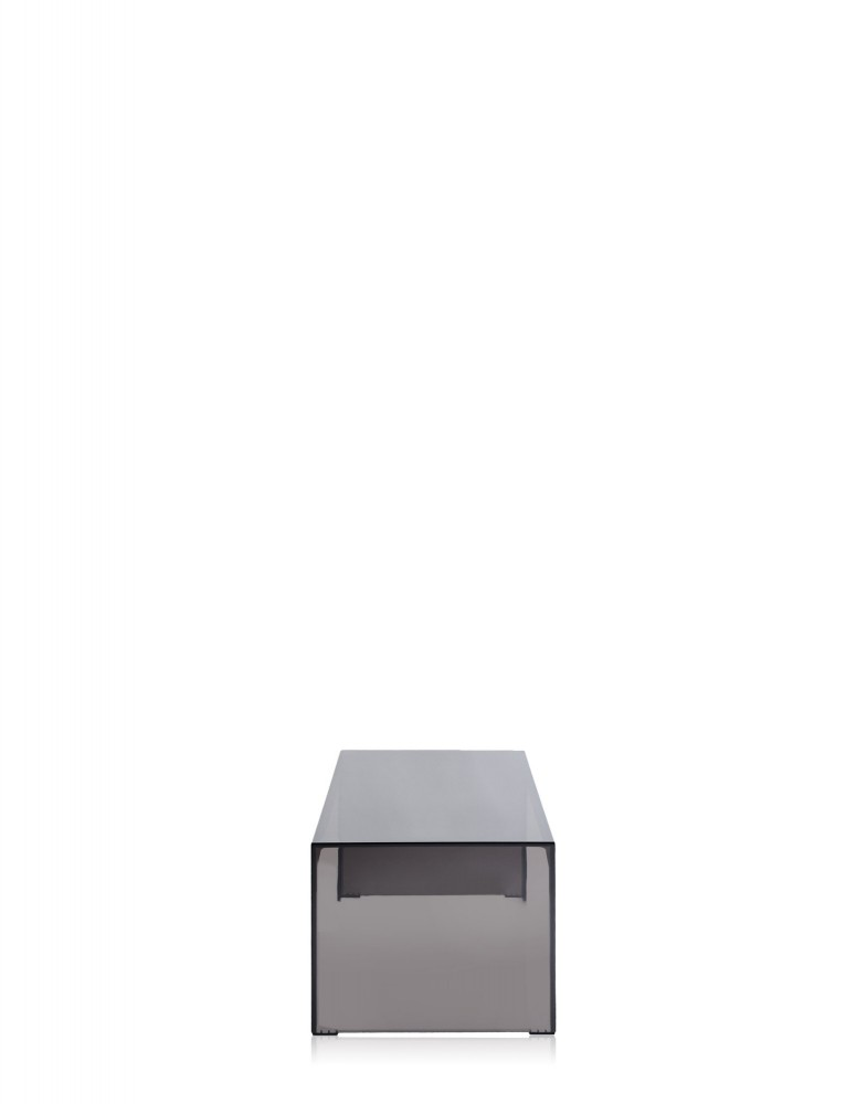 Консоль Invisible Side (дымчатая) высота 40см