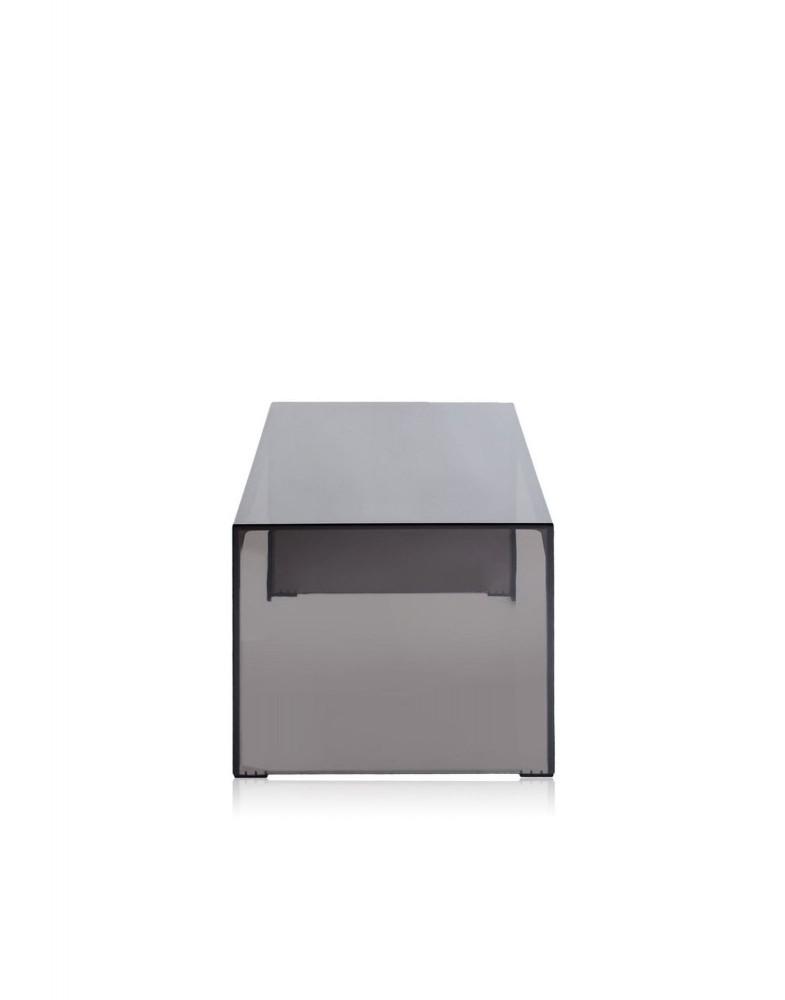 Консоль Invisible Side (дымчатая) высота 31,5см