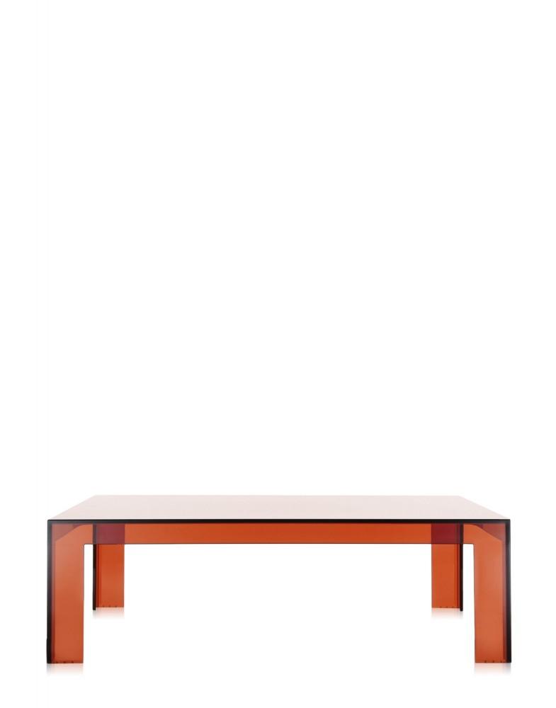 Стол журнальный Invisible Table (янтарный)