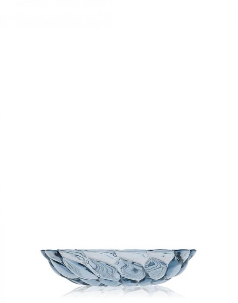 Глубокая тарелка Jellies Family (голубая)