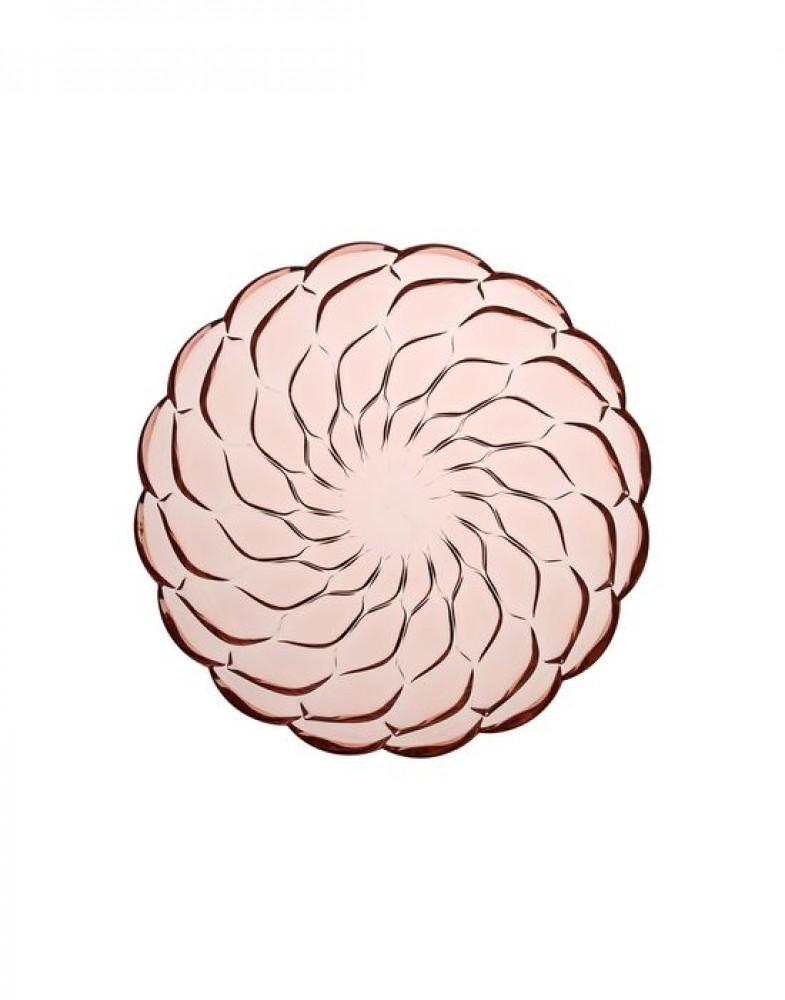 Глубокая тарелка Jellies Family (розовая)