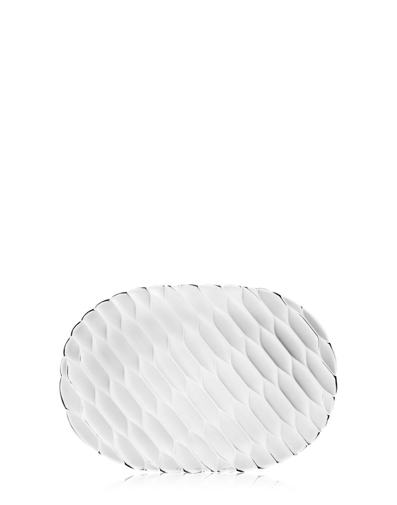 Блюдо Jellies Family (кристалл) овальное