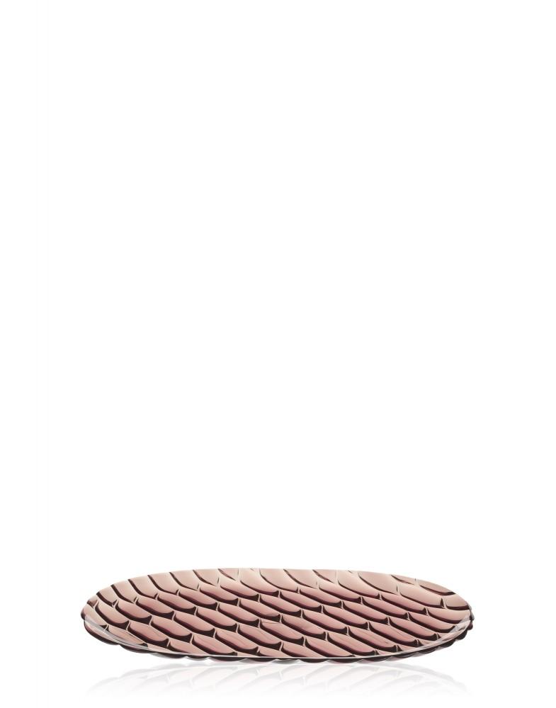 Блюдо Jellies Family (розовое) овальное