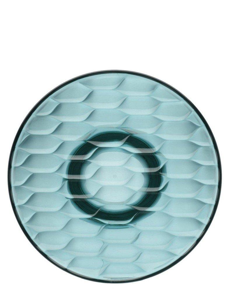 Вешалка настенная Jelly (голубая) диаметр 19см