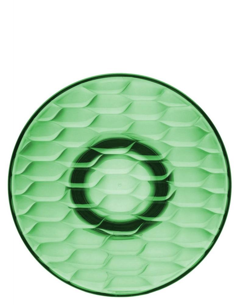 Вешалка настенная Jelly (зеленая) диаметр 19см