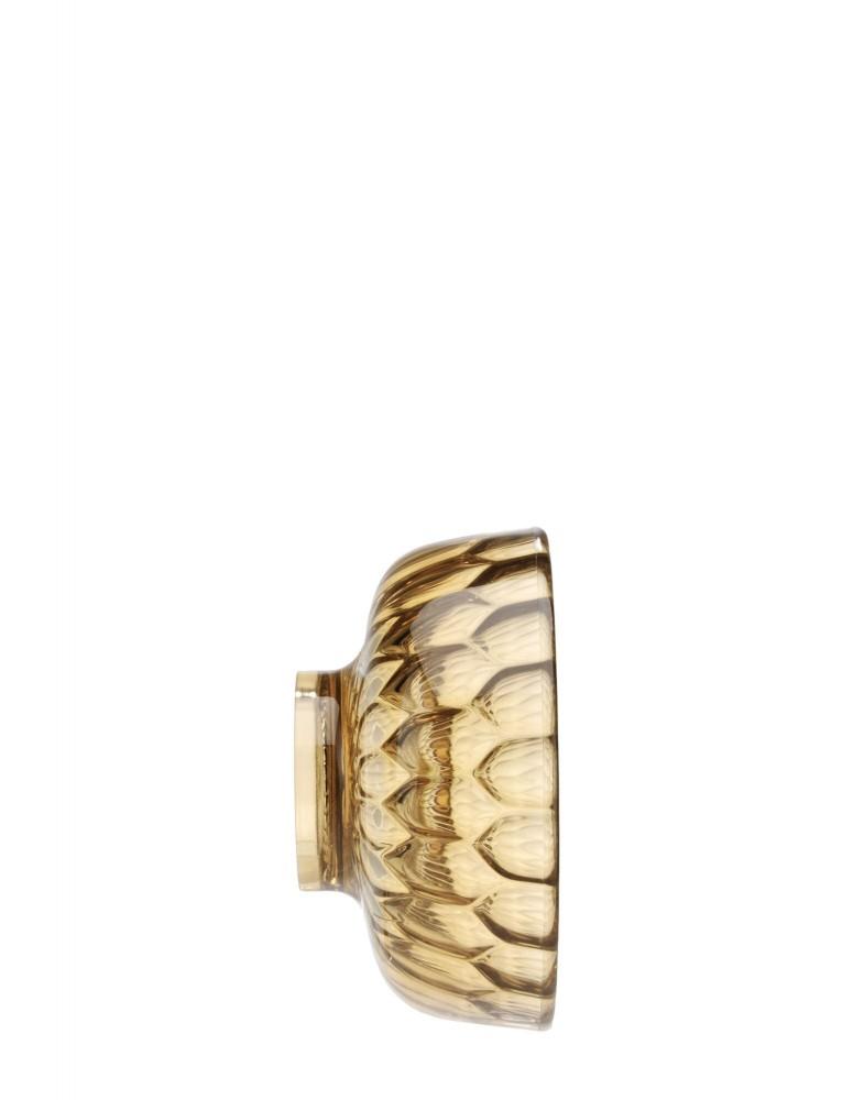 Вешалка настенная Jelly (янтарная) диаметр 9см