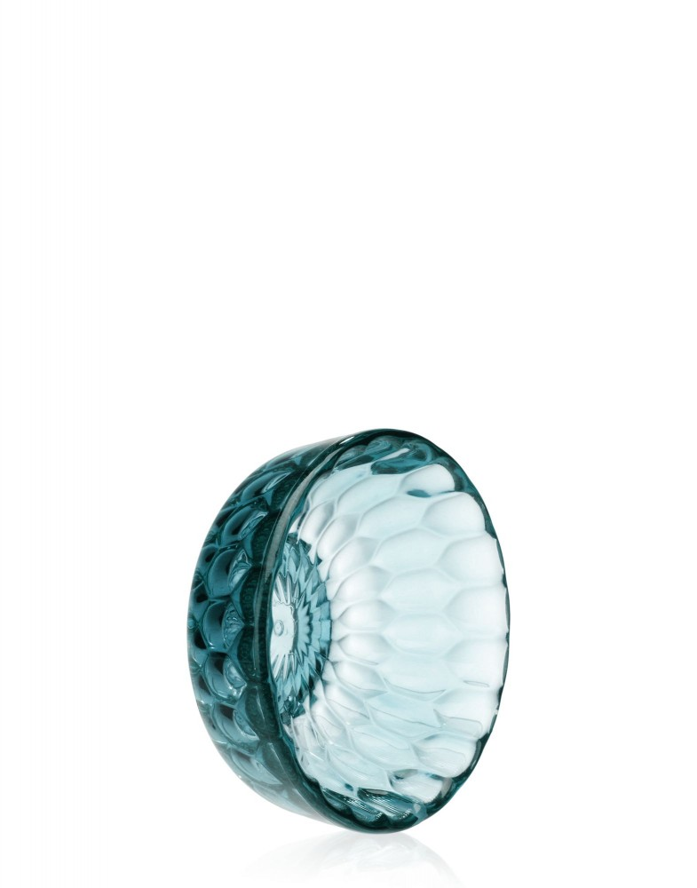 Вешалка настенная Jelly (голубая) диаметр 9см