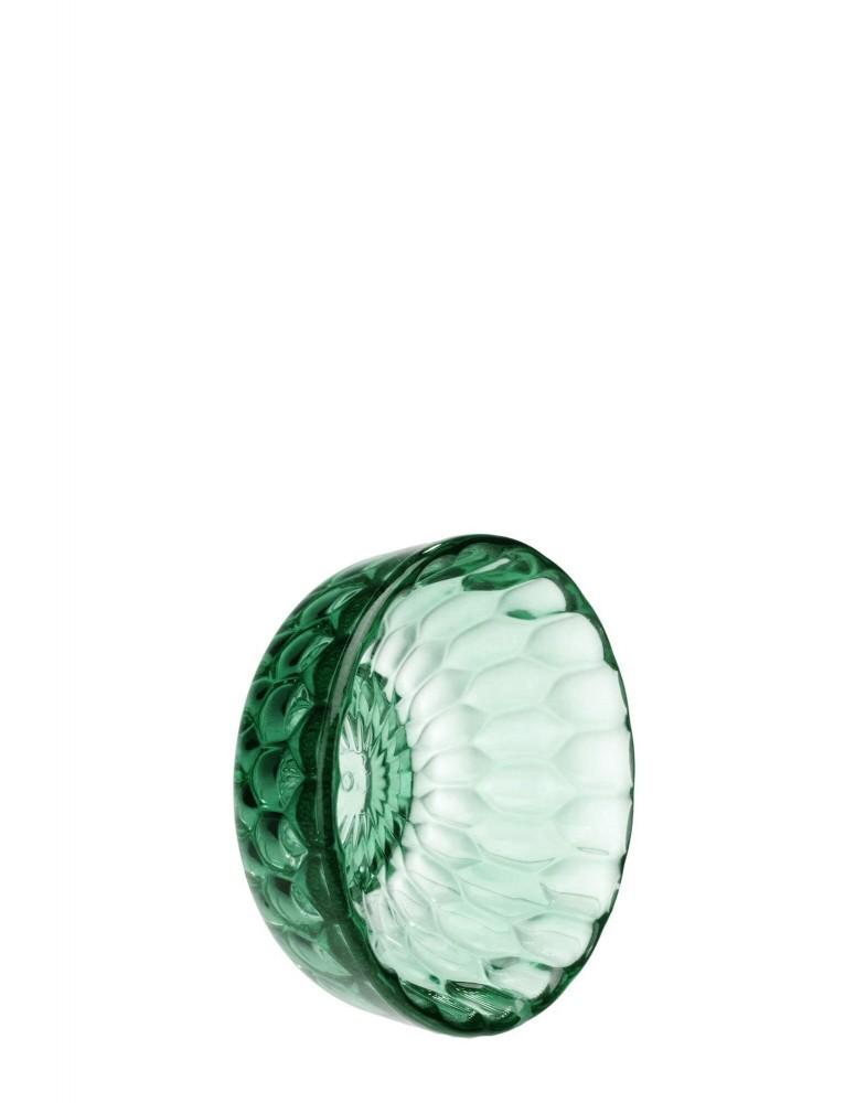 Вешалка настенная Jelly (зеленая) диаметр 9см
