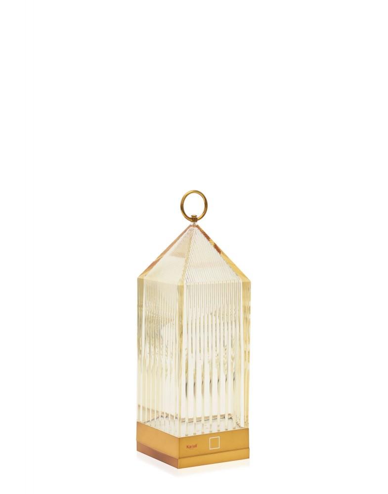 Светильник настольный Lantern (янтарный)