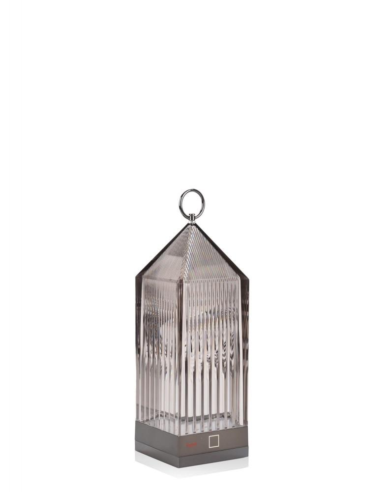 Светильник настольный Lantern (дымчатый)