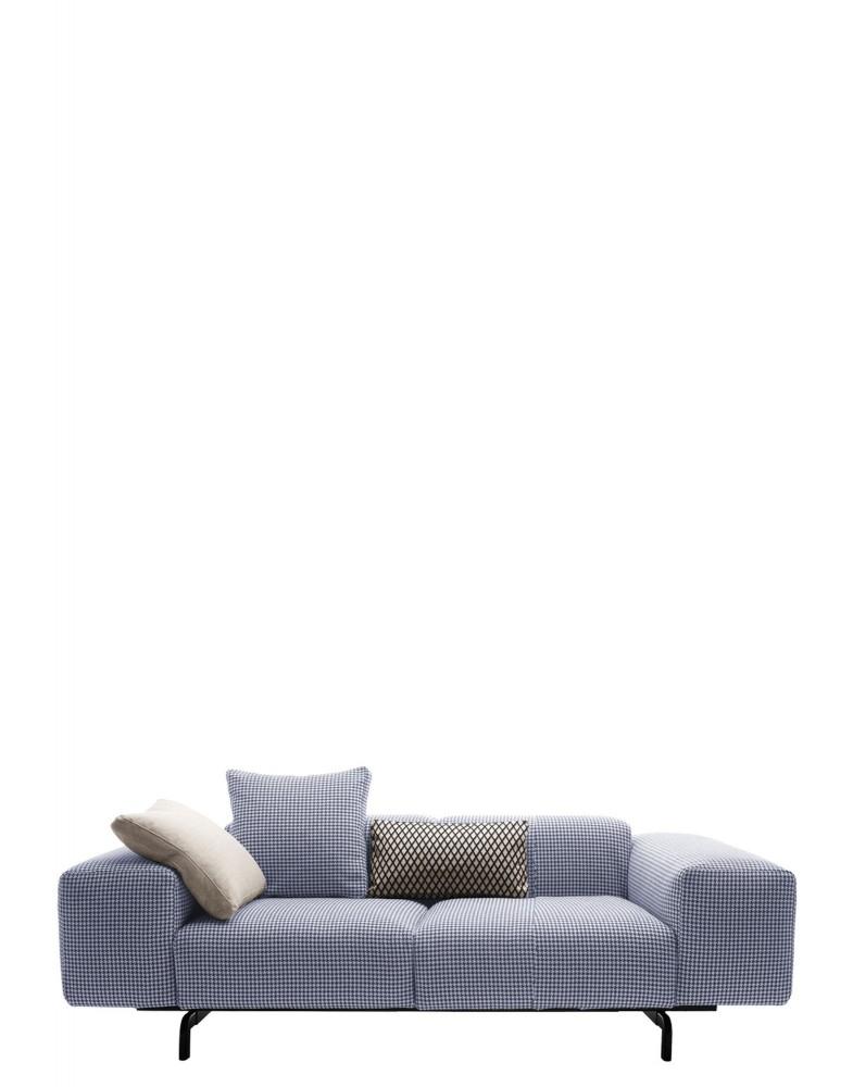 Диван Largo (синий) двухсекционный