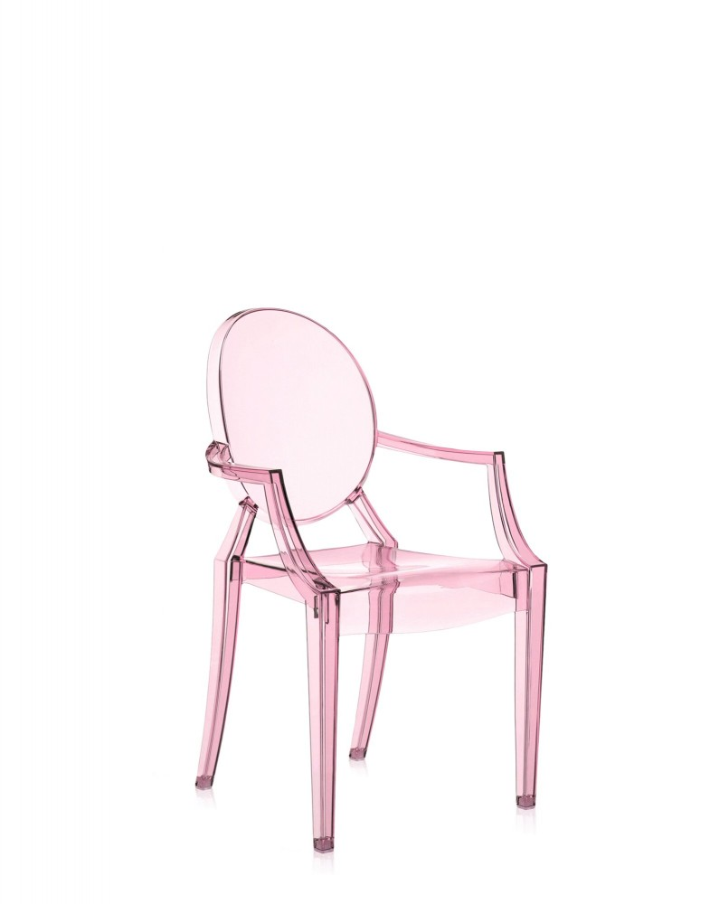Стул детский Lou Lou Ghost (розовый)