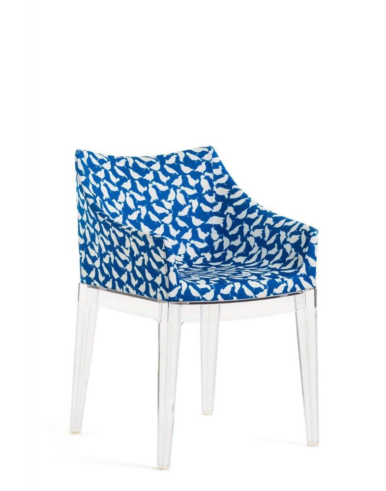 Кресло Madame (синее/кристалл)