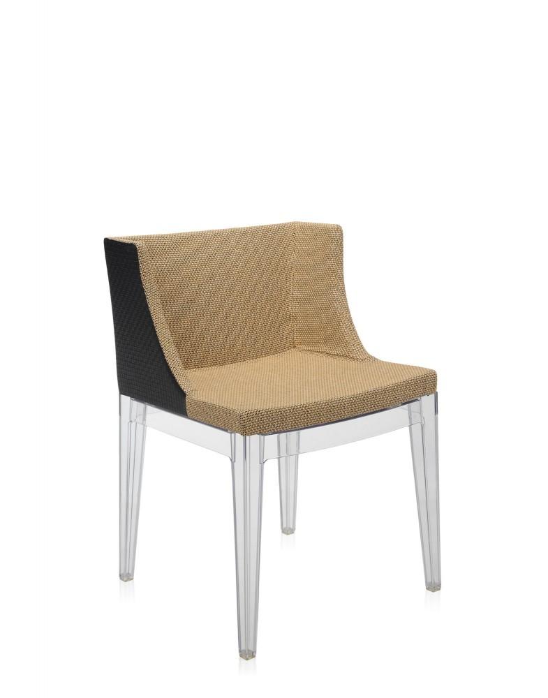 Кресло Mademoiselle Kravitz (бежевое/черное)