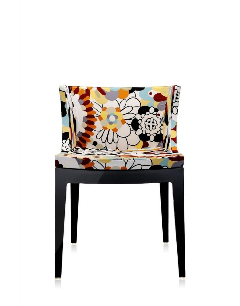 Кресло Mademoiselle (черное) в ткани Missoni