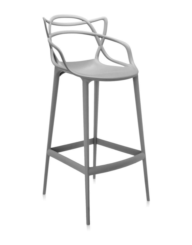 Стул барный Masters (серый) высота сидения 75см