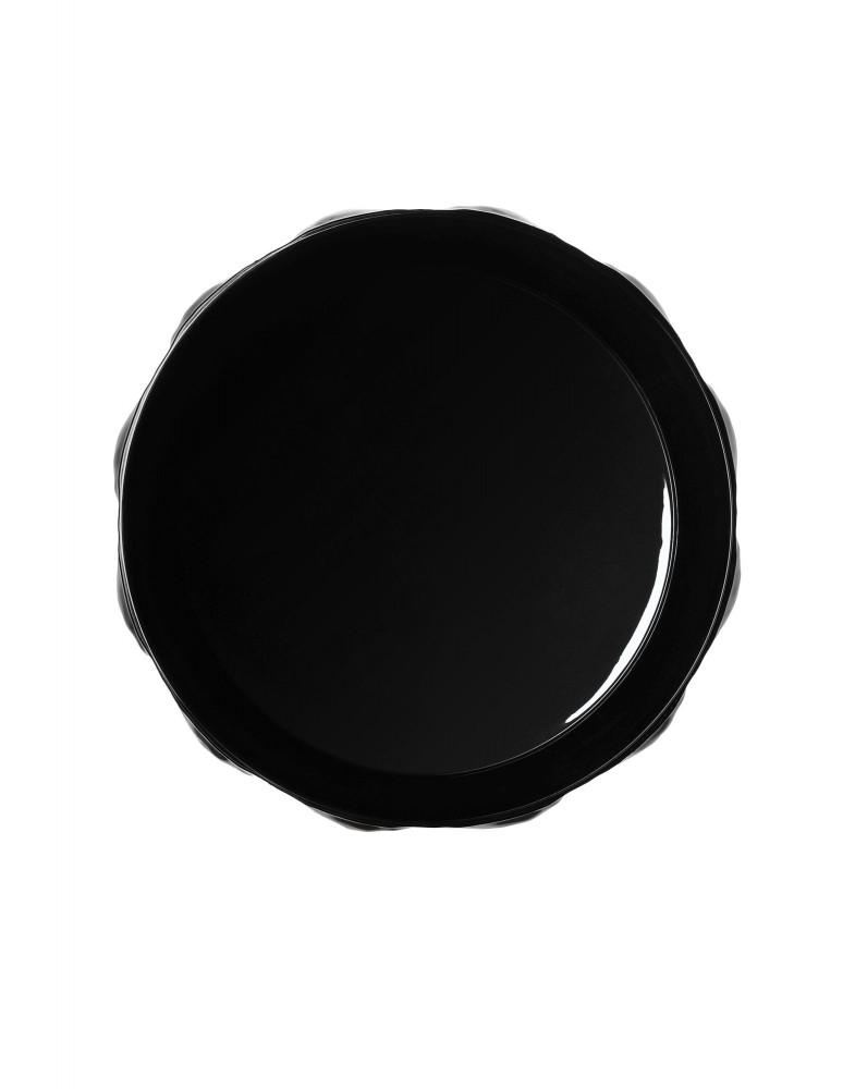 Ваза Matelasse (черная)