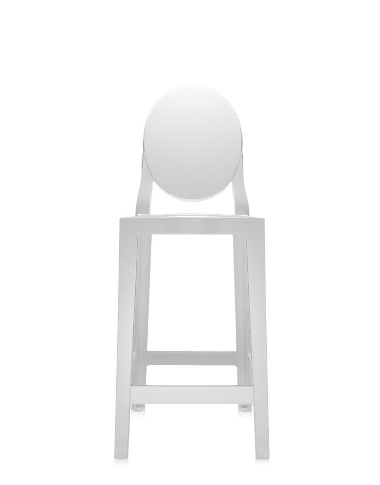 Стул барный One More (белый) высота сидения 65см