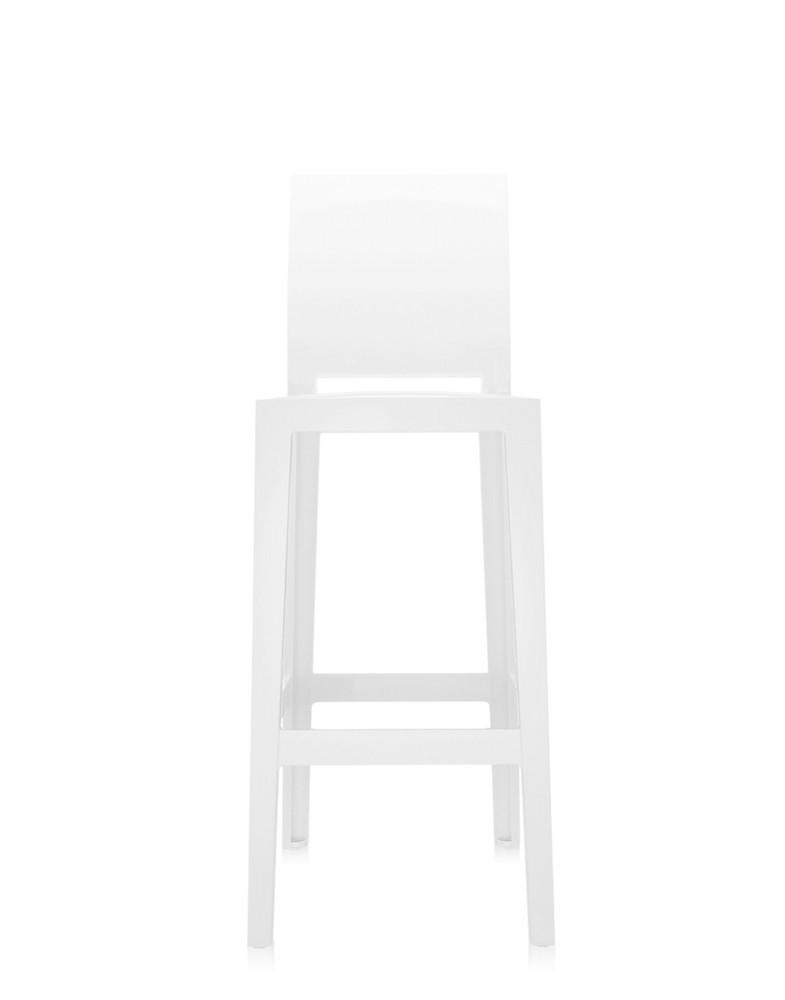 Стул барный One More Please (белый) высота сидения 75см