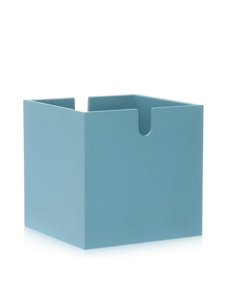 Шкаф книжный сборный Polvara (голубой) Куб