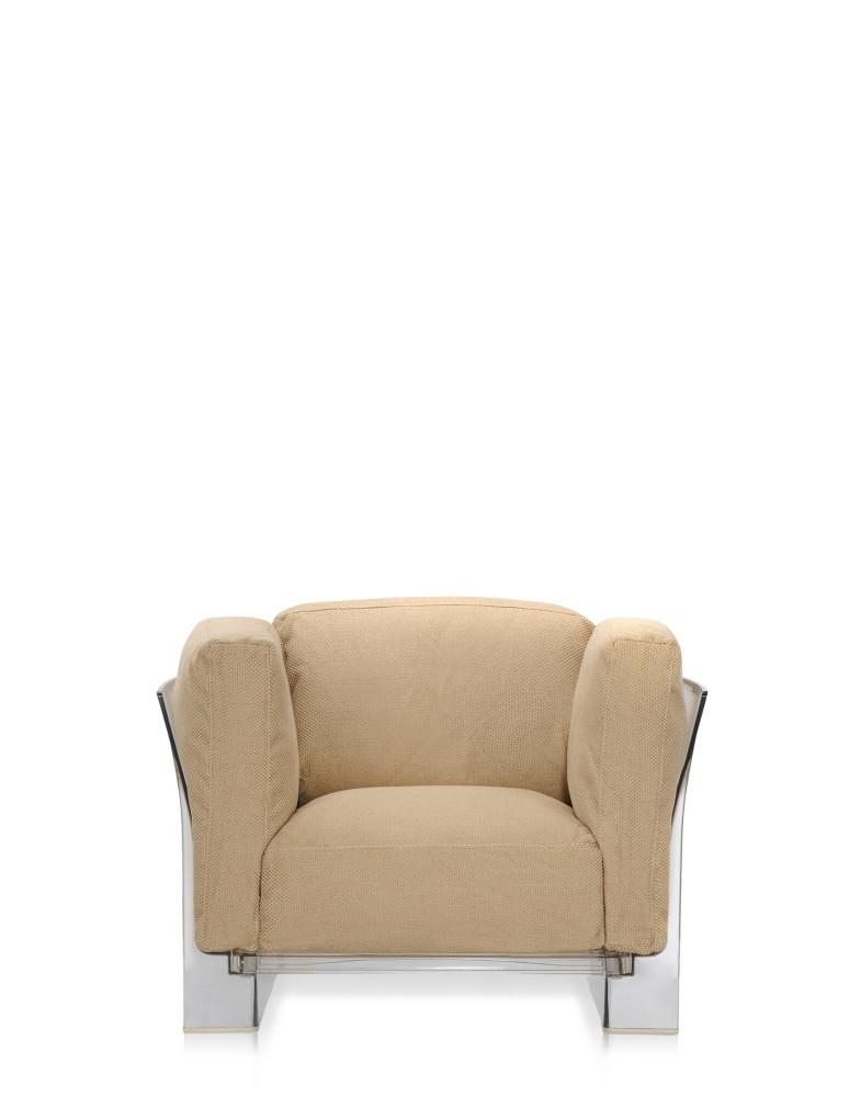Кресло Pop Duo (коричневое/кристалл)