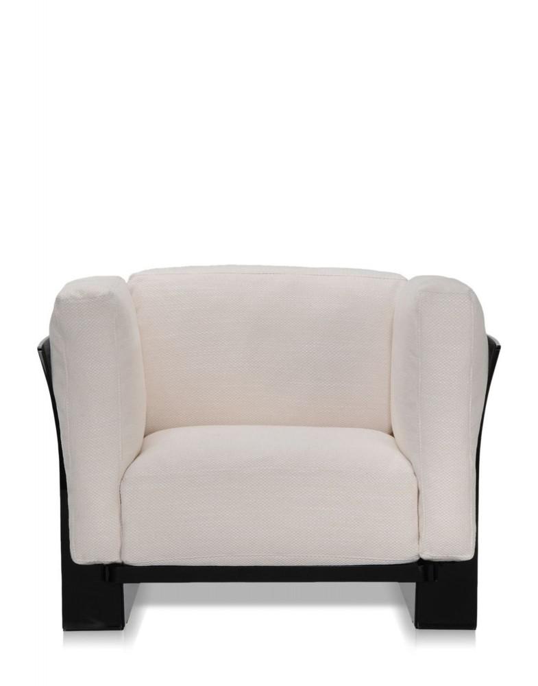 Кресло Pop Duo (белое/черное)