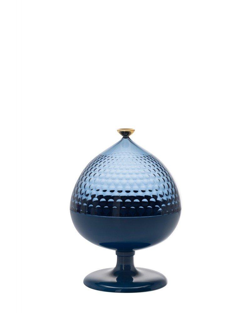 Контейнер с крышкой Pumo (голубой/синий)