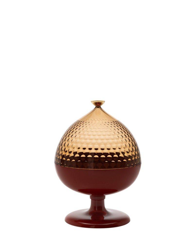Контейнер с крышкой Pumo (янтарный/коричневый)
