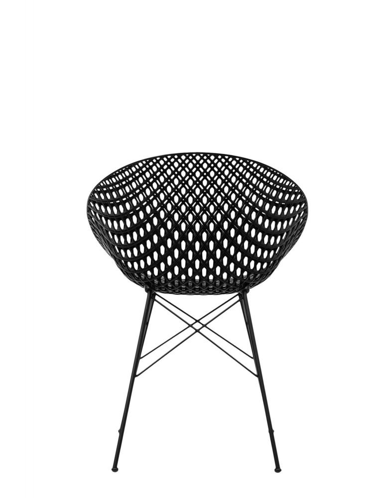 Кресло Smatrik (черное) на ножках