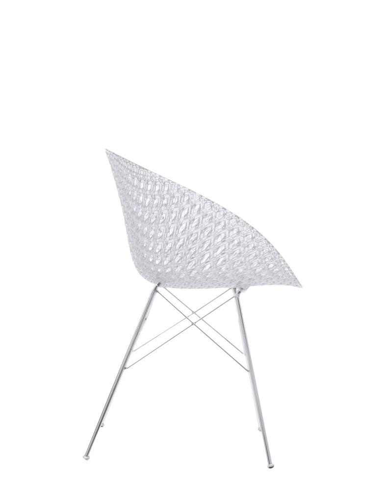 Кресло Smatrik (кристалл/хромированное) на ножках