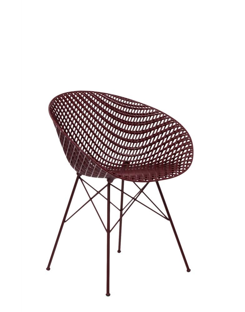 Кресло Smatrik (фиолетовое) на ножках